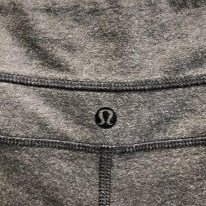lululemon athletica Shorts - Lululemon gray soft short sz 6 62098